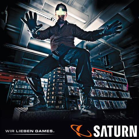 poster campaign for SATURN